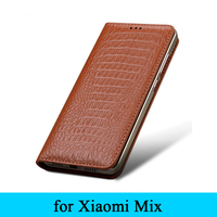 Mix Leather Case 2016 New Top Cow Genuine Leather Case Fashion Business Phone Cover Slim Flip