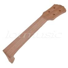 Kmise Mahogany 23 inch Concert Ukulele Neck For Luthier Parts