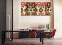 Modern Flora Oil Paintings On Canvas Living Room Decoration 40 60cm 3