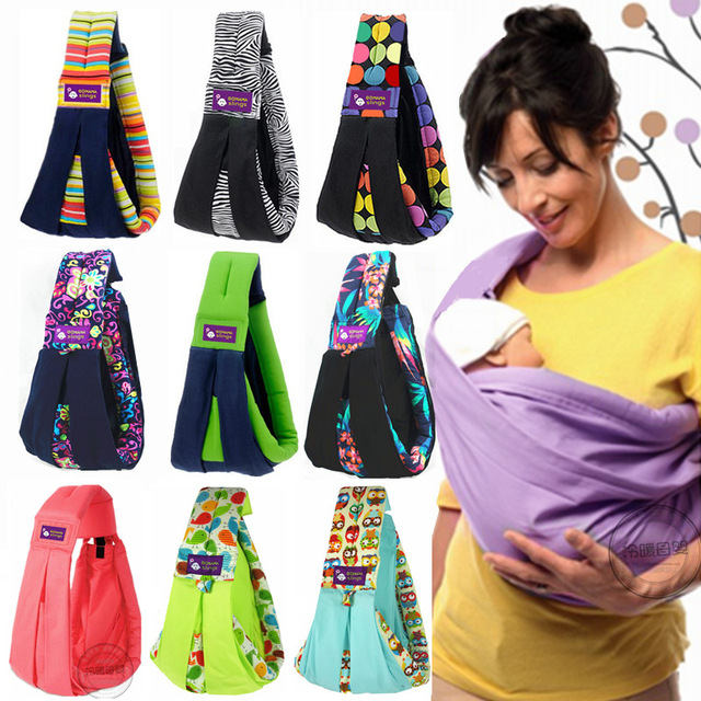 4d4443a5606 Original Baby Slings Warp Cotton Carrier Hands-free Carrying Belt For  Newborns And Breastfeeding And Front Carry Infant Sling