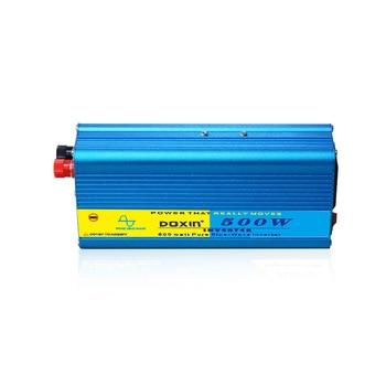 Voltage Converter 12V to 220V 24V to 220V 500W Sine Wave Inverter Home Vehicle Inverter Power Supply