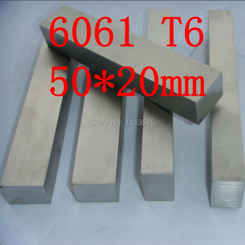 50mm x 20mm Aluminium Flat Bar,50*20mm,width 50mm,thickness 20mm,6061 T6 80mm x 30mm aluminium flat rectangular bar 80 30mm width 80mm thickness 30mm 6061 t6