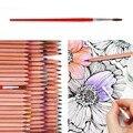 Hero Изобразительного Искусства Цветной Рисунок Эскиз Карандаши Набор 72 нетоксическо Для Написания Цветные lapices Школы Искусство Рисования