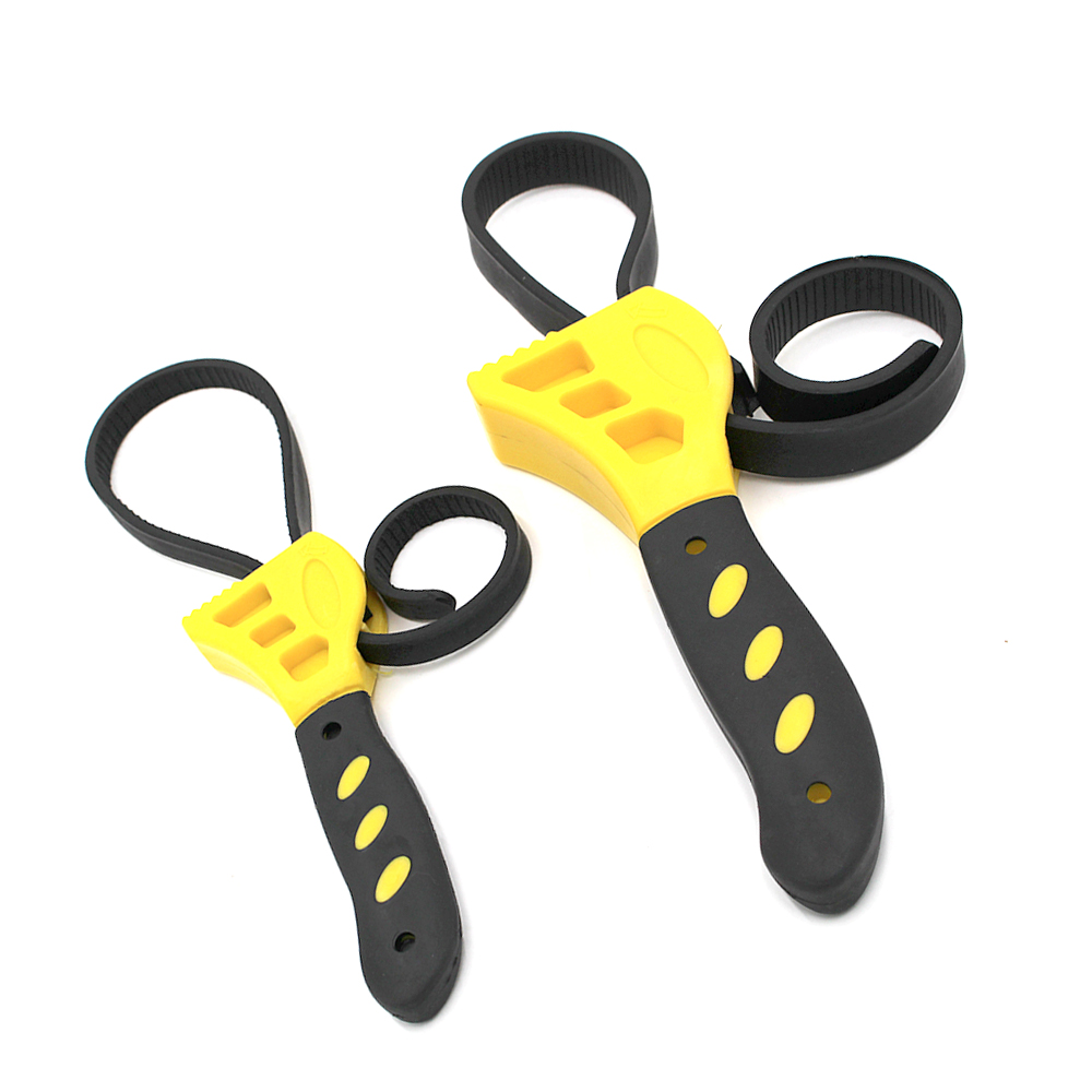 6 8 Multitool Rubber Strap Universal Wrench Adjustable Spanner For Any Shape Opener Tool Car Repair Tools DAL015