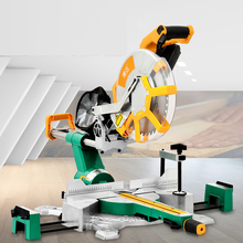 Electric Miter Saw Carpentry Table Saw Double-Bevel Miter Circular Saw Multifunctional Woodworking Machines Cutting Tools