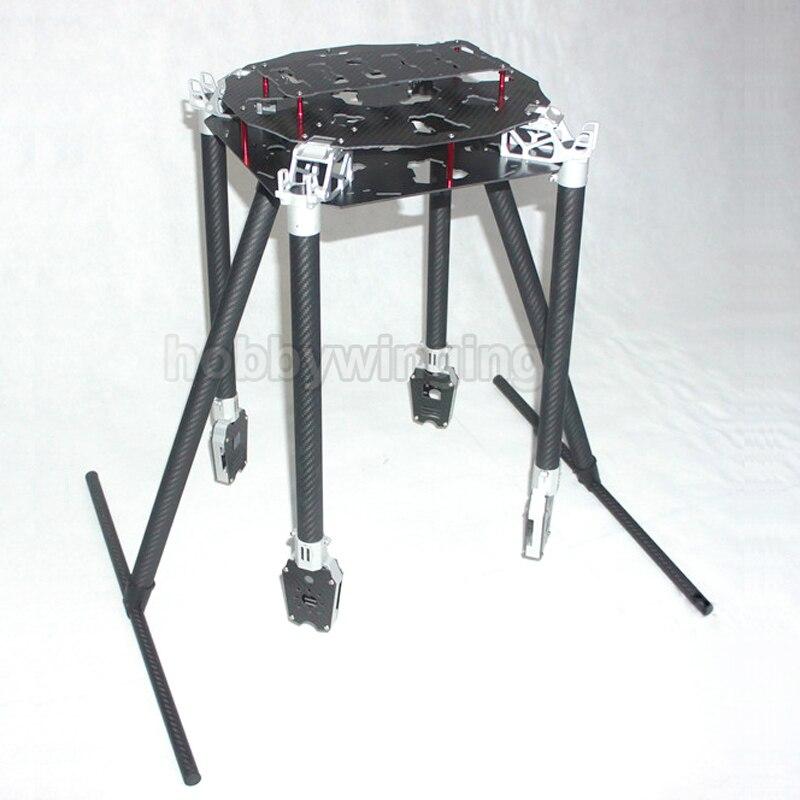 FPV U8 dedicado 1200mm fibra de carbono aérea UAV plegable Quadcopter marco Kit soporte 30 pulgadas proppler