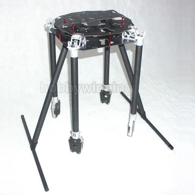 FPV U8 dedicated 1200mm Carbon Fiber Aerial UAV Folding Quadcopter ...