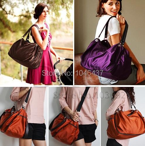Mother Luxury Diaper Bags Waterproof Baby Tote Nappy Bag High Quality Momy Handbags Big Capacity Kids Stroller Bag Nylon Fabric