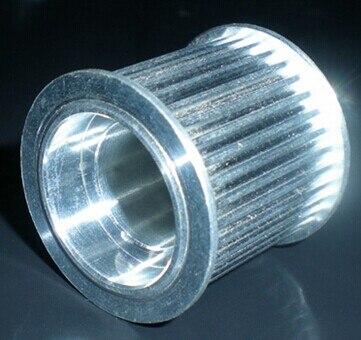 ФОТО High-precision 22 teeth XH  aluminum pulleys for 15 mm belt