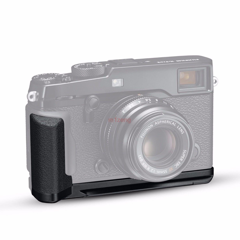Metal Shoot Quick Release L Plate/Bracket Holder Vertical hand Grip for Fujifilm Fuji XPRO2 X-PRO2 Camera Arca Swiss L-bracket