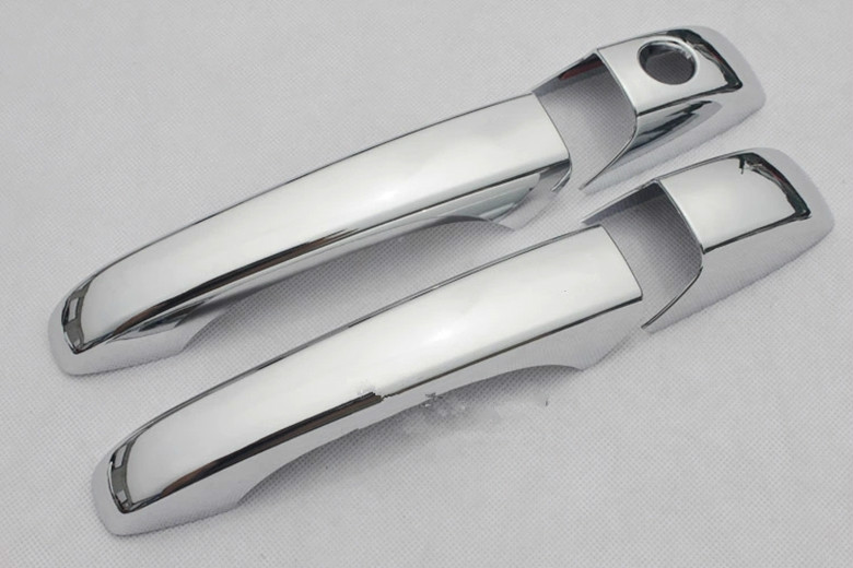 Image 5 - FUNDUOO For Dodge Caliber 2007 2008 2009 2010 2011 2012 New Chrome Car Door Handle Cover Trim Sticker-in Car Stickers from Automobiles & Motorcycles