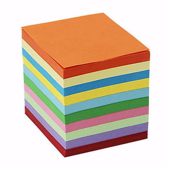 Hot Selling 200 520 Pcs Sheets Origami Paper Double Sided Coloured