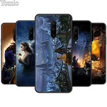 Soft Cover Shell for Oneplus 7 7 Pro 6 6T 5T Silicone Phone Case for Oneplus 7 7Pro Black Case Beauty and the Beast