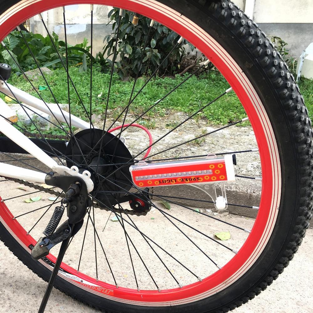 LEADBIKE Hot Wheels Lampe LED Velo Bike Light Fahrradzubehör Bunte - Radfahren - Foto 6