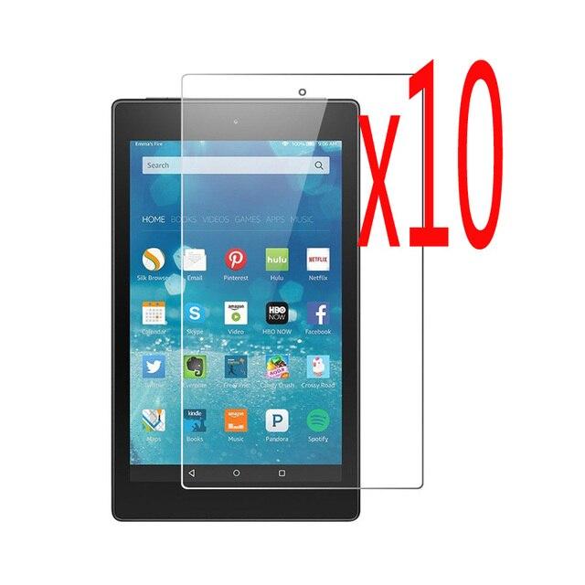 10 unids/lote 9 H 2.5D Premium a prueba de explosiones de vidrio templado Protector de pantalla Anti Scratch películas para Amazon Kindle fuego nuevo 7 2015