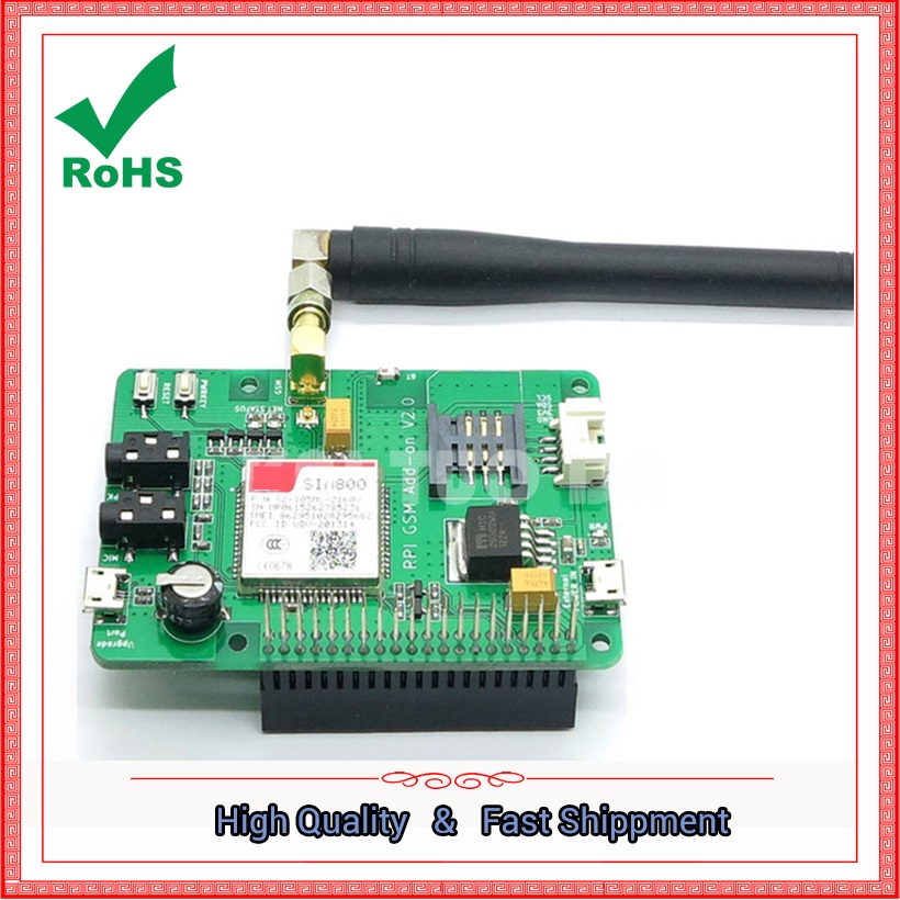 to send sim800 expansion board with gsm / gprs SMS function, support  Pi 2 module boardto send sim800 expansion board with gsm / gprs SMS function, support  Pi 2 module board
