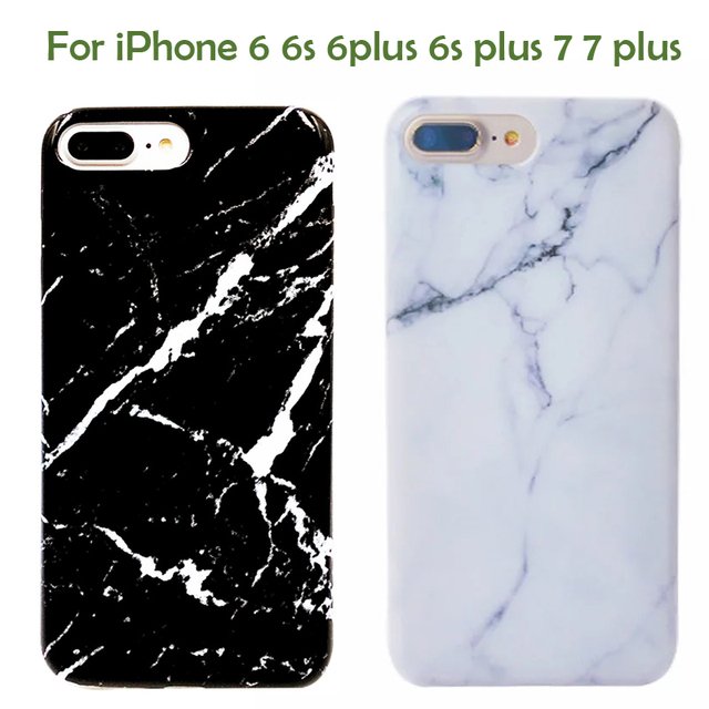 customize case for iphone6 6s 6plus 6splus 7 7plus marble stone