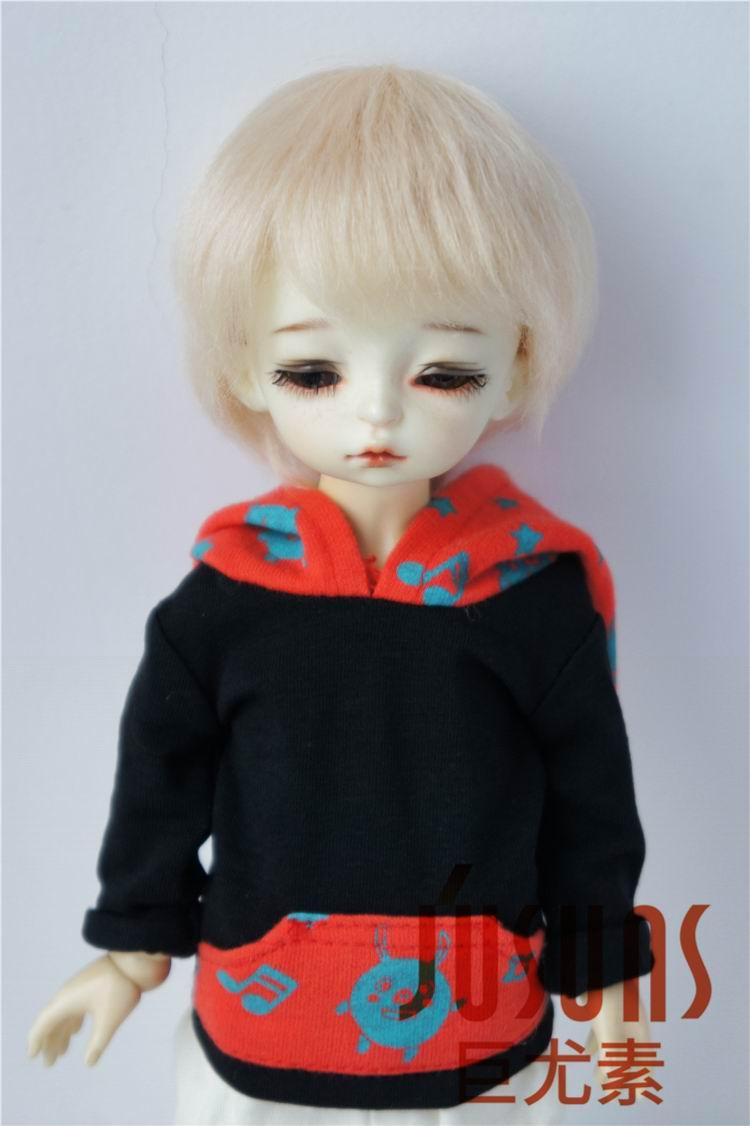 JD293 1/8 1/6 Мода из мягкого мохера BJD парики Милая Короткая раскроенная кукла волосы Размер 5-6 дюймов 6-7 дюймов кукла аксессуары