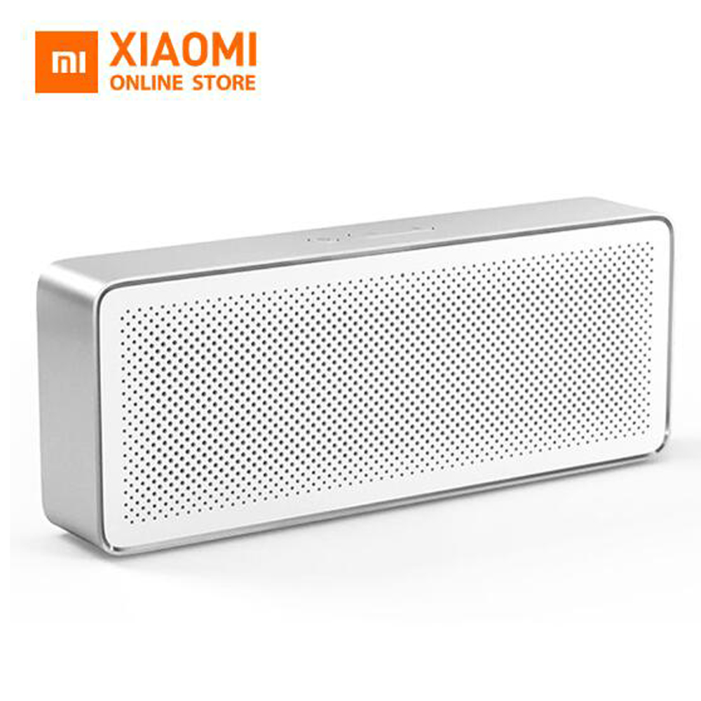 Qualified Original Xiaomi Mi Bluetooth Speaker Basic 2 Square Box 2 Stereo Portable Bluetooth 4.2 Hd High Definition Sound Quality Play