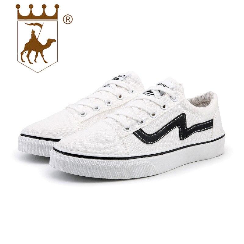 BACKCAMELCanvas chaussures hommes 2019 printemps nouvelles chaussures basses hommes tendance ceinture décontractée en caoutchouc bas léger Slip WearSIZE39-44