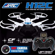 JJRC H12C 6 Axis Headless Mode 2.4G 4CH RC Quadcopter 360 Degree UFO RC Helicopter Drone with 2.0MP HD Camera