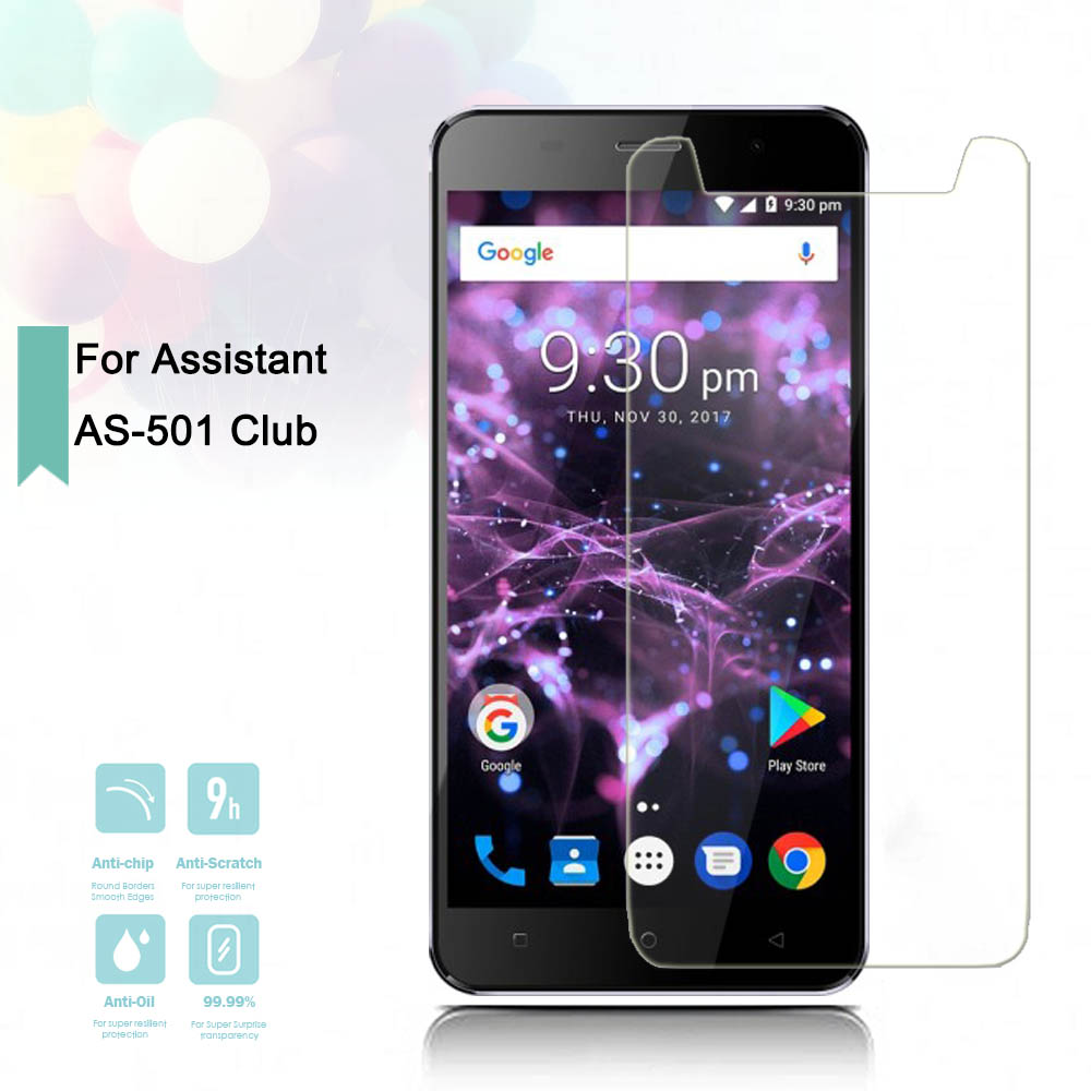 2 5D 0 26mm Ultra Thin Tempered Glass Assistant AS 501 Club Toughened Protector Film Protective Screen Case Cover Universal in Phone Screen Protectors from Cellphones Telecommunications