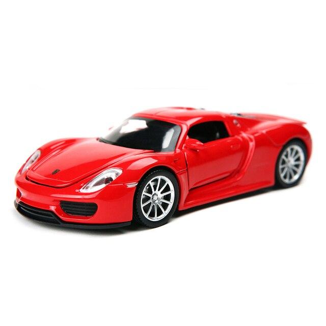 1:32 Дети Toys 918 Street Cars Модель Дети Моделирование Литья Под Давлением Сплава Металла Автомобилей Вытяните Назад Мини Авто Brinquedo Menino Подарок