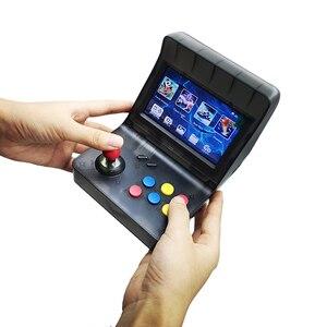 Image 3 - רטרו ארקייד כף יד קונסולת משחקי 4.3 אינץ 3000 קלאסי משחק נגן 2 PCS ג ויסטיק טלוויזיה פלט נייד