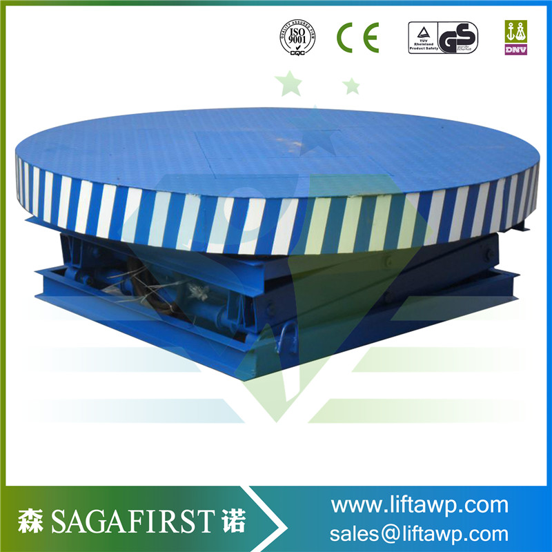1000kg Round Stage Lift With CE