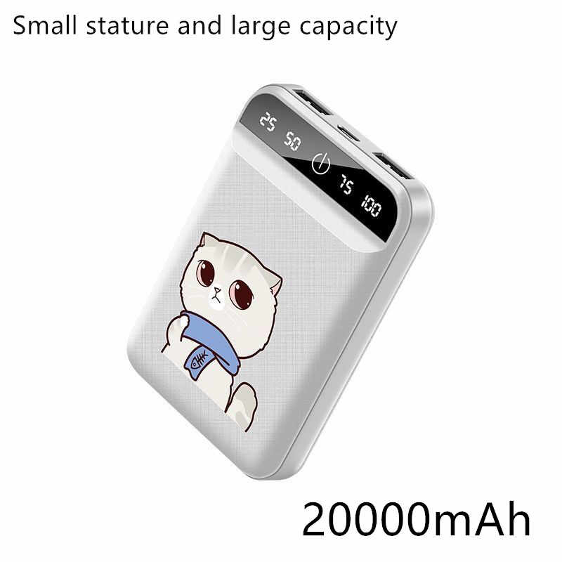 2019 новый внешний аккумулятор 30000 мАч для Xiaomi Mi 2 USB power Bank портативное зарядное устройство Внешний аккумулятор повербанк для iPhone Huaw samsung