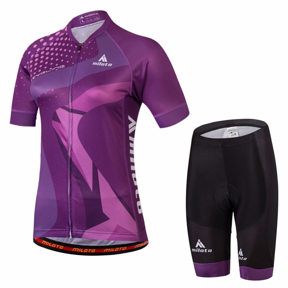 Race Fit Cycling Suit Women s Reflective Cycling Jersey   MTB Bike Shorts  Set Short Sleeve Ladies Cycling Clothing Kit XS-5XL fa0efe065