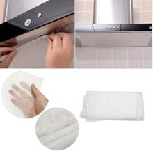 Kitchen Replaceable Range Hood Oil-absorbing Cotton Non-woven Filter Paper Kitchen High Temperature Oil-Absorbing Paper clean cooking nonwoven range hood grease filter kitchen supplies pollution filter mesh range hood filter paper oil filter paper