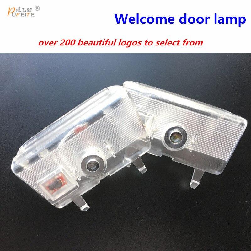 2x Led Car Door Logo Laser Projector Lights For Mazda atenza 2013 2014 2015 2016