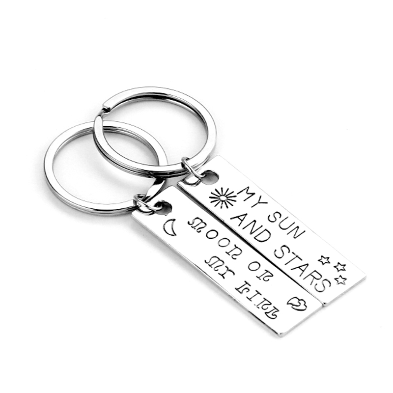 Game of Thrones Keychain Moon of My Life, My Sun and Stars Lovers couple gift Game of Thrones Drogo Khaleesi Love wholesale