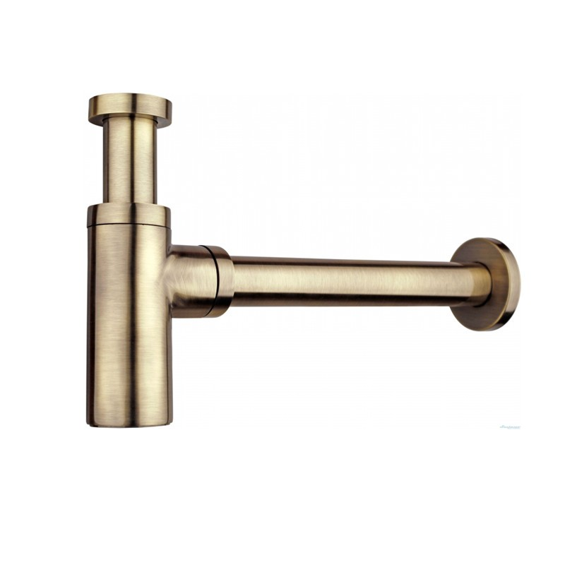 ФОТО 2017 Wholesale Antique Bronze P Traps Old Style Vintage Brass Bottle Trap Basin Pop Up Waste Plumbing Tube Replacment