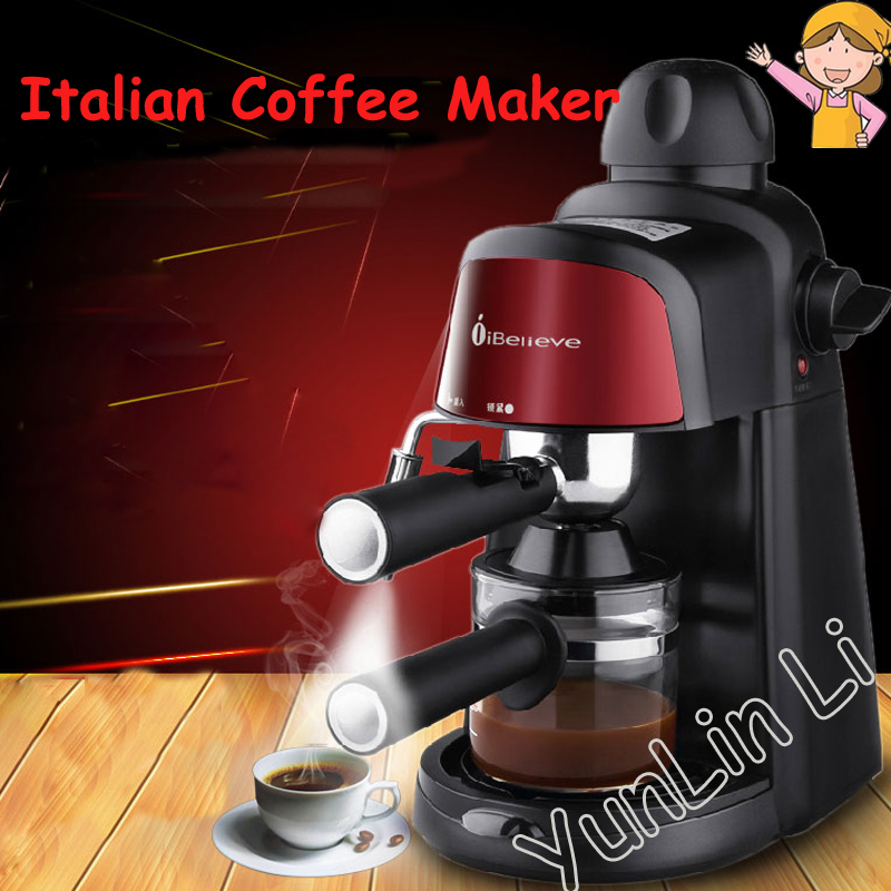 Italian American Coffee Machine Semi-automatic 5bar Pump Pressure Household Commercial Milk Foam Machine CM6810 free shipping electronic high pressure steam foam for commercial household semi automatic coffee machine coffee machine