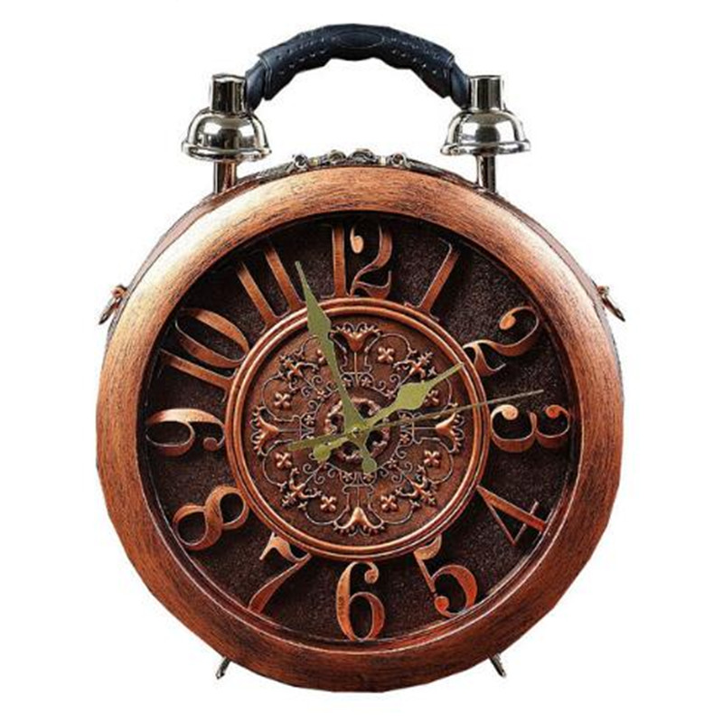 2018 The New Creative Alarm Clock Package Handbag Watch Fashion Women's Handbag Shoulder Bag Handbags Dropship Bags
