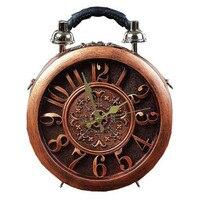 2018 The New Creative Alarm Clock Package Handbag Watch Fashion Women's Handbag Shoulder Bag Handbags Dropship Bags