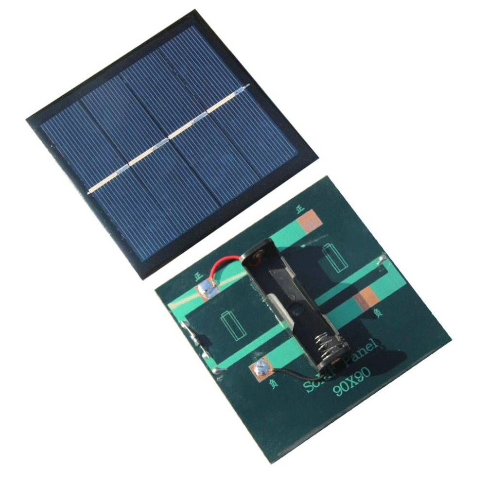 Eco Friendly 1w 2v Polycrystalline Silicon Solar Panel