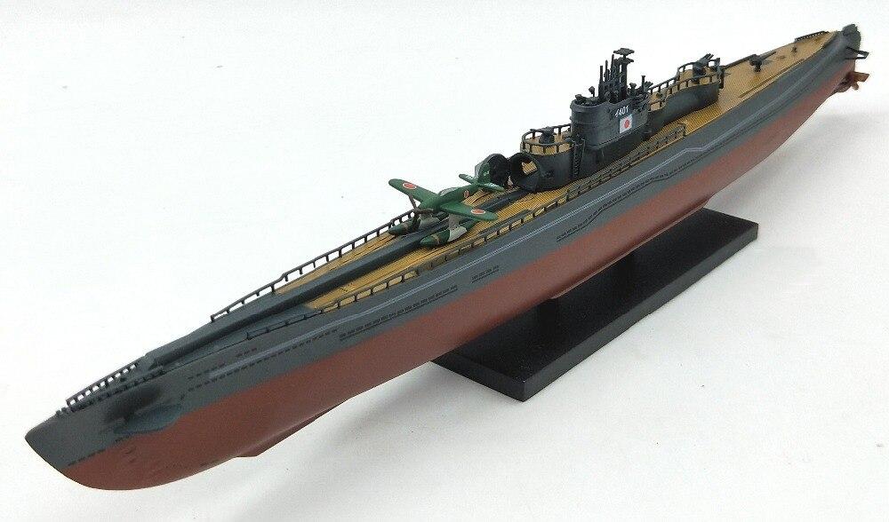 Rare 1:350 Seconda Guerra Mondiale il Giappone Iraq 400 modello di sottomarino I401 acqua In Lega aereo modello di simulazione