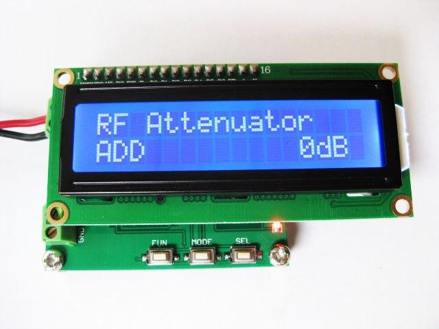 RF power meter 1-500Mhz -80 ~ 10 dBm RF power attenuation values can be set цены