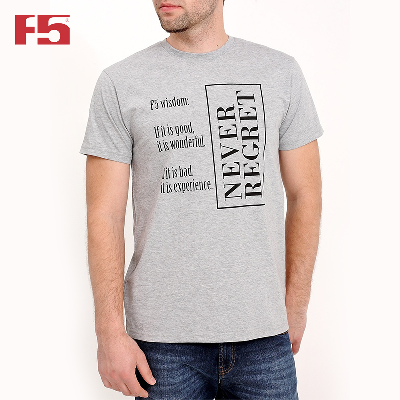Men Tshirt F5 80070 men ink painting print tshirt