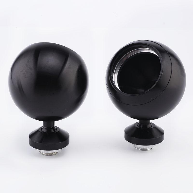 Car Tweeter Aluminium Base Speaker Boxes *20-25 ( One Pair ) Black Color