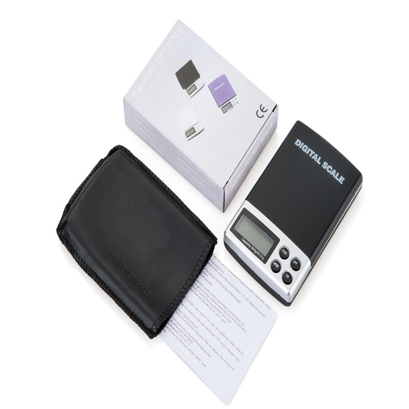 500g 0,01 g nešiojamų elektroninių svarstyklių 500G 0,01 - Matavimo prietaisai - Nuotrauka 6