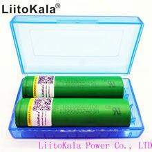 Bateria de Lítio DA do Cigarro Liitokala Us18650vtc6 Poder 30a 18650 Vtc6 Originais de 3000 Mah DA Bateria do Cigarro Eletrônico 2 Pcs