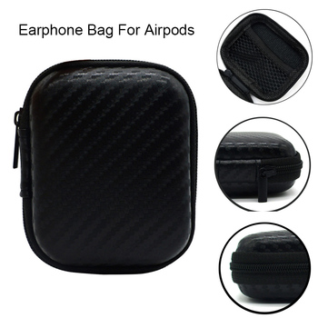 Shockproof Portable Earphone Bags Cases For AirPods Storage Hard Bag Box Headphones Case Headset Accessories For Apple AirPods image