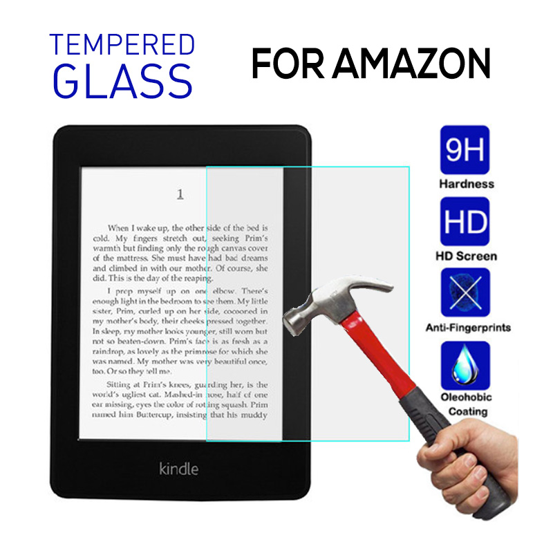 9H Tempered Glass For Amazon Kindle Paperwhite 4 2018 10th Generation 6.0 Inch New Kindle 2019 Screen Protector Film Guard Glass