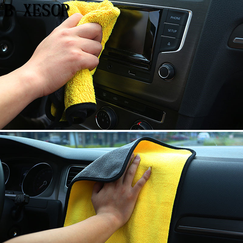Automobiles & Motorcycles Super Absorbent Car Wash Microfiber Towel Car Cleaning Drying Cloth Extra Large Size 30*30 Cm Drying Towel Car Care Online Discount Exterior Accessories