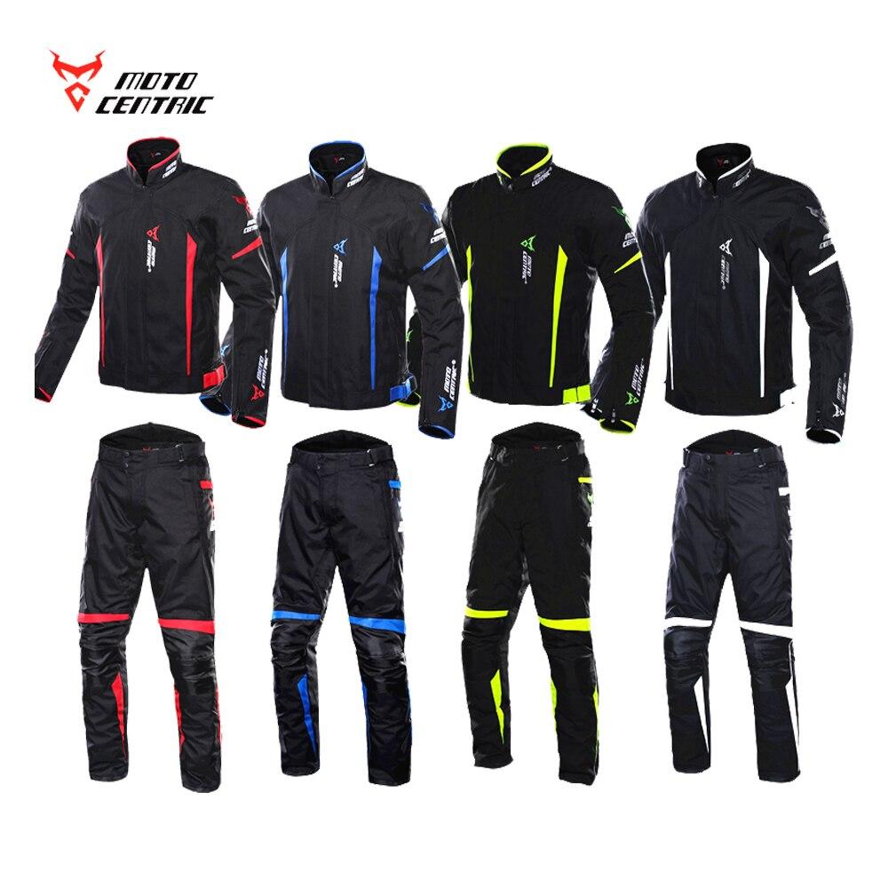 MC Motorcycle suit motocross jacket sets Winter Double Waterproof motorcycle pant Lining Removable Motorbike jacket Jaqueta XXXL