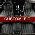 Custom fit esteiras do assoalho do carro para Mercedes Benz C W204 W205 E W211 W212 W213 S classe ML GL GLE tapete do carro GLC-styling forros DA CIA